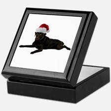 Black Lab Christmas Keepsake Box