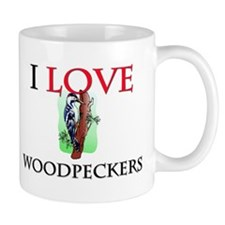 I Love Woodpeckers Mug