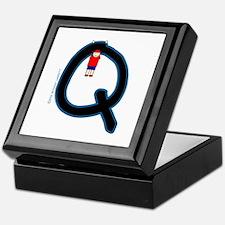 Q (Boy) Keepsake Box