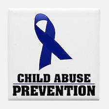 CA Prevention Tile Coaster