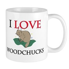 I Love Woodchucks Mug