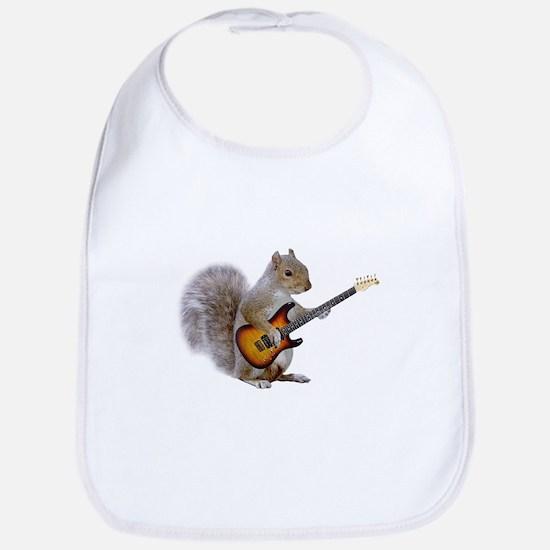 Squirrel Guitar Bib