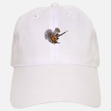 Squirrel Guitar Baseball Baseball Cap