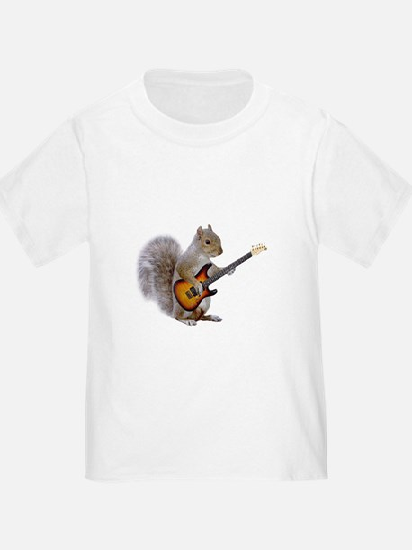 Squirrel Guitar T