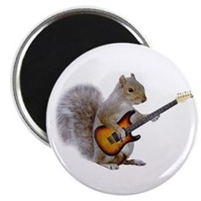 Squirrel Guitar Magnet