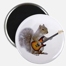 "Squirrel Guitar 2.25"" Magnet (100 pack)"