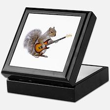 Squirrel Guitar Keepsake Box