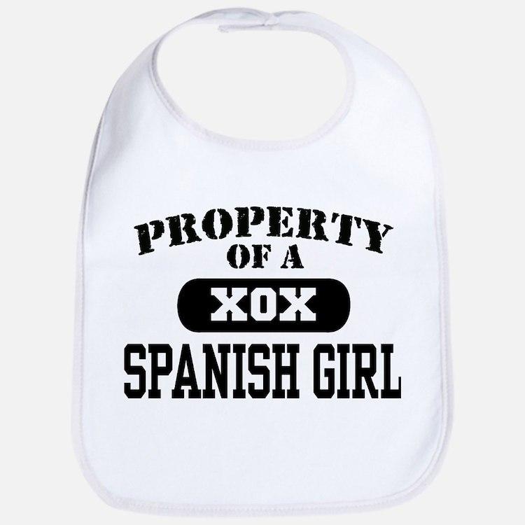 Property of a Spanish Girl Bib