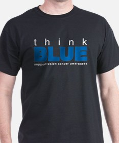 think BLUE T-Shirt
