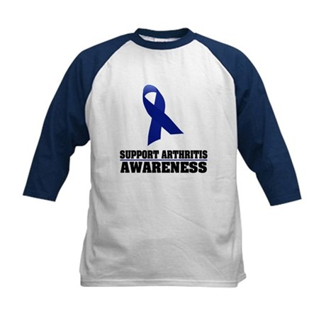 Arthritis Awareness Kids Baseball Jersey
