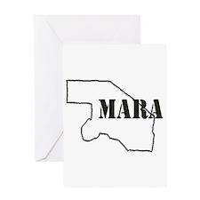MARA Greeting Card