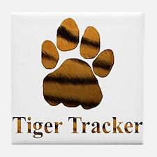 Tiger Tracker Tile Coaster