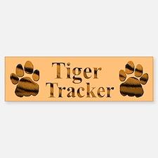 Tiger Tracker Bumper Bumper Bumper Sticker
