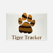 Tiger Tracker Rectangle Magnet