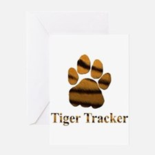 Tiger Tracker Greeting Card