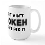 If It Ain't Bokeh, Don't Fix Large Mug