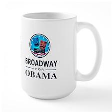 BROADWAY FOR OBAMA Mug