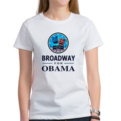 BROADWAY FOR OBAMA Tee