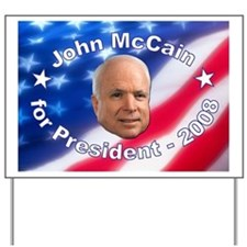 """""""John McCain 2008"""" Yard Sign"""