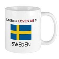 Somebody Loves Me In SWEDEN Mug