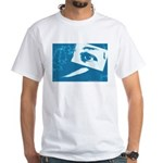 Chain Eye White T-Shirt