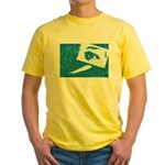 Chain Eye Yellow T-Shirt