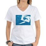 Chain Eye Women's V-Neck T-Shirt
