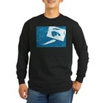 Chain Eye Long Sleeve Dark T-Shirt