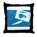 Chain Eye Throw Pillow