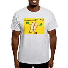 HAPPY HOLLOWEENIE Ash Grey T-Shirt