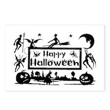 Halloween Postcard Art Postcards (Package of 8)