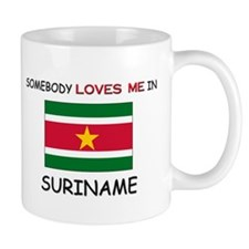 Somebody Loves Me In SURINAME Mug