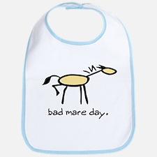 Bad Mare Day Bib