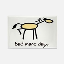 Bad Mare Day Rectangle Magnet