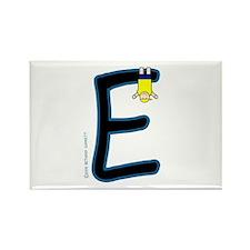 E (Boy) Rectangle Magnet (10 pack)