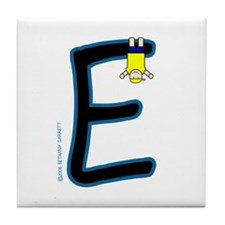 E (Boy) Tile Coaster