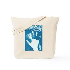 Reaching Tote Bag