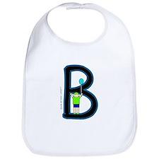 B (Boy) Bib