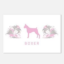 """Elegant"" Boxer Postcards (Package of 8)"