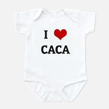 I Love CACA Infant Bodysuit