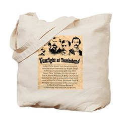 Wanted The Earps Tote Bag