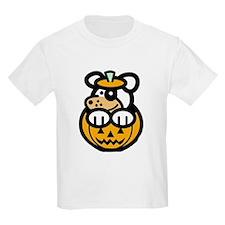 Puppy in Pumpkin T-Shirt