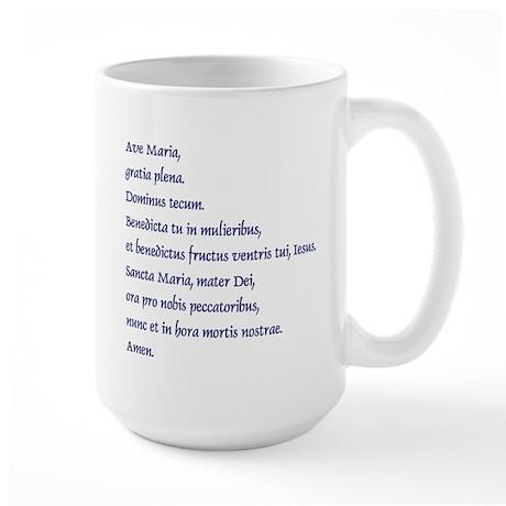 Large Ave Maria Mug