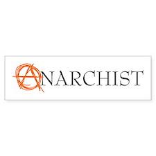 Anarchist Bumper Bumper Sticker