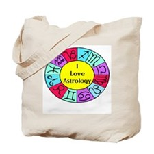 I Love Astrology Tote Bag