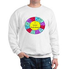 I Love Astrology Sweatshirt
