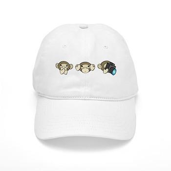 Chimp No Evil Cap