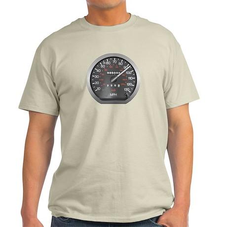90 mph Ash Grey T-Shirt
