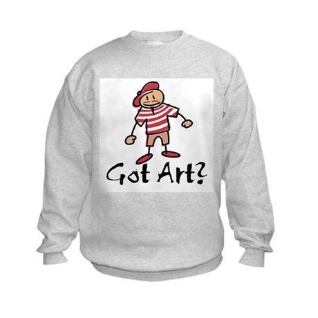 Got Art? Kids Sweatshirt