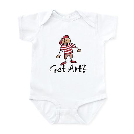 Got Art? Infant Bodysuit